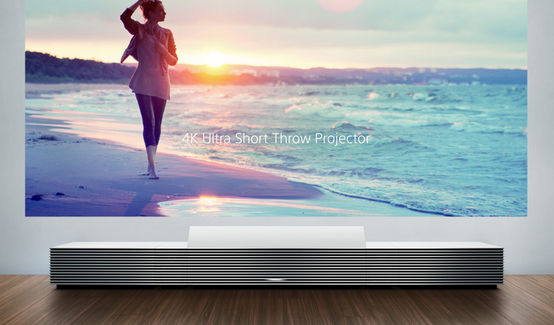 Sony's Dreamy Life Space UX Projector Beams a 4K Display from Up Close