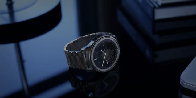 This Smartwatch Ditches Apps For Great Design