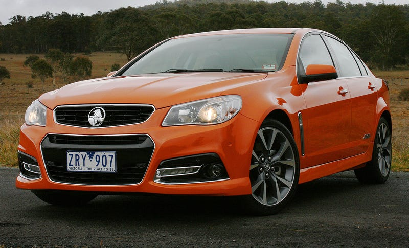 Holding On To Hope For The Holden Commodore