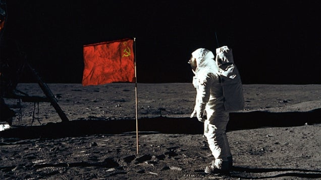 Would a Soviet Moon landing have forced the US to go to Mars?