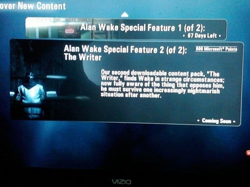 "Alan Wake's Second Episode is ""The Writer""?"