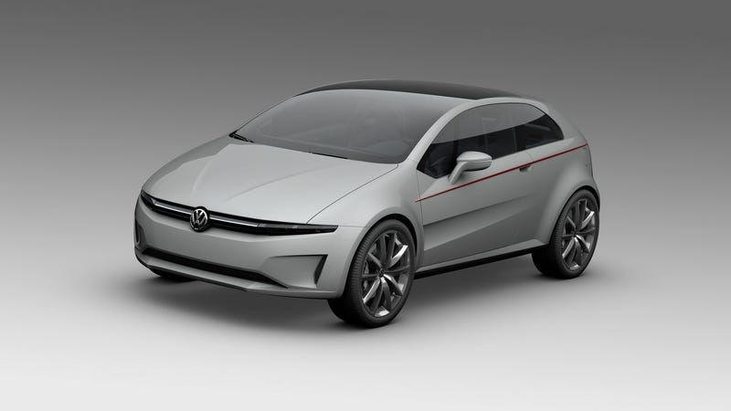 Giugiaro pens future Volkswagen Golf, Polo