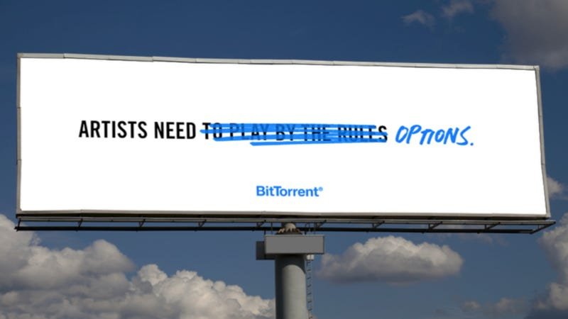 BitTorrent's Taking Out Pro-Torrenting Billboards and They're Awesome