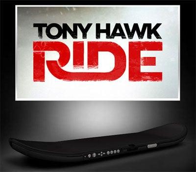 "New Tony Hawk Peripheral ""Responds Like A Real Skateboard"""