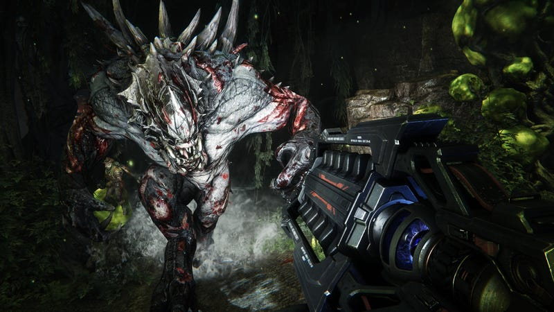 From the HOLY CRAP THIS GAME IS CRAZY Dept.: Evolve