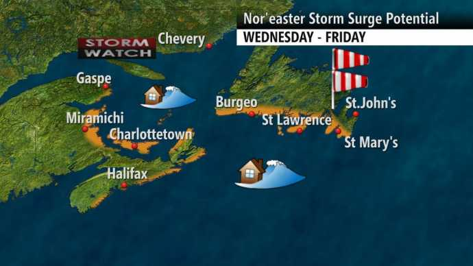 Impending Nor'easter Will Be Devastating for Atlantic Canada