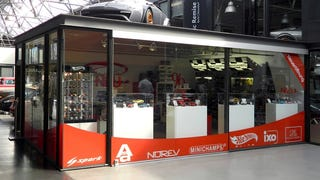 On the hunt: Diecast store in Berlin