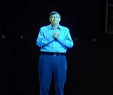Bill Gates Holographic Appearance Brings Inevitable Palpatine References