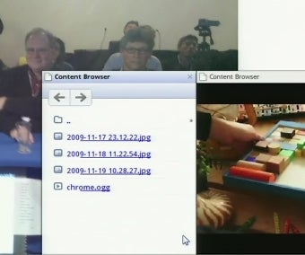 First Glimpse at Google Chrome OS