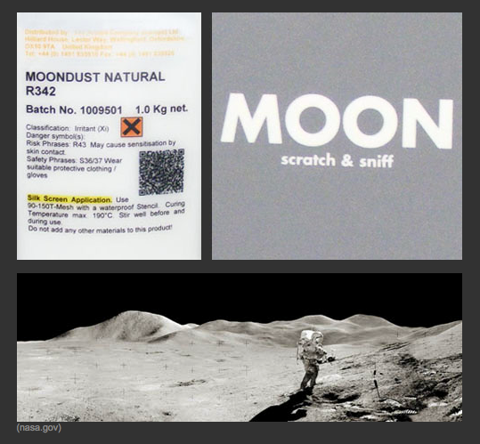 Scratch 'N Sniff the Moon in These Limited Edition Prints