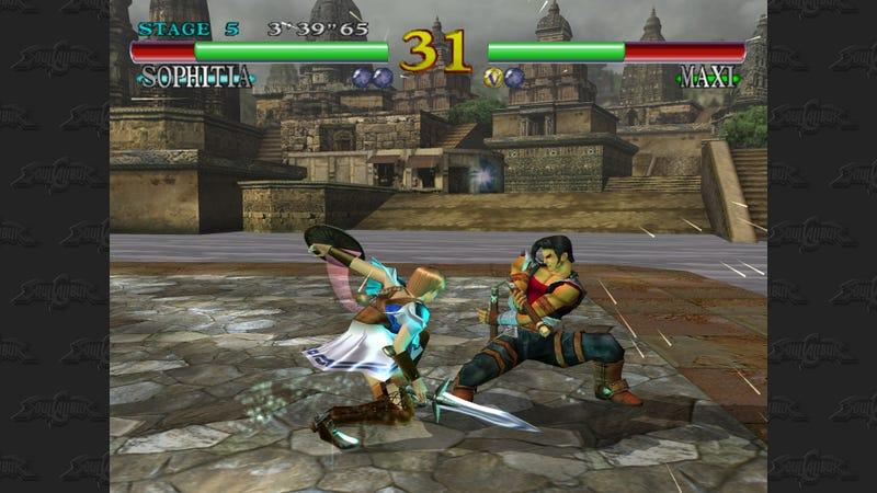 Xbox Live Arcade Soul Calibur Looks... Constrained