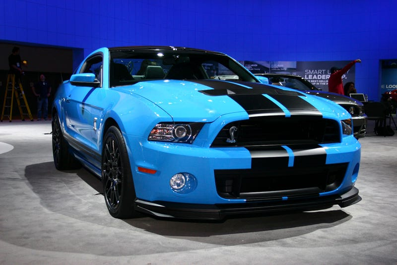 2013 Shelby GT500: Live Photos