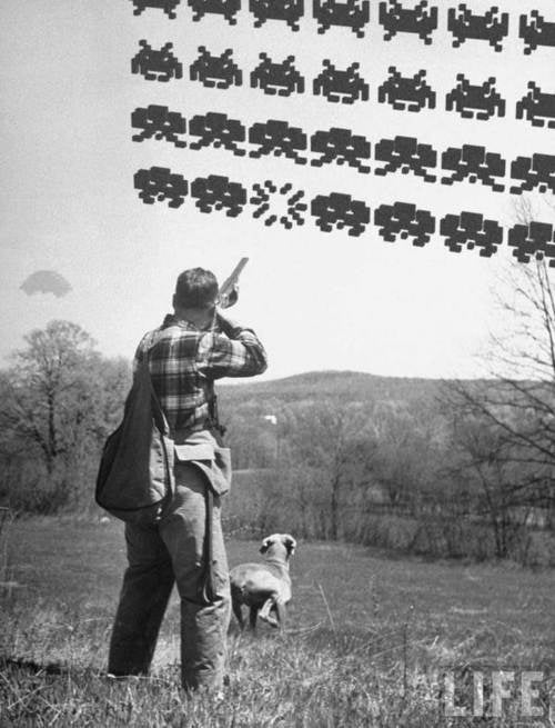 Life Magazine Remembers the Space Invaders