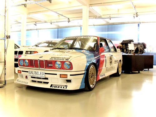 A Peek Inside BMW's Secret Motorsport Warehouse