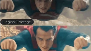 <i>Man of Steel</i> restored in color looks so much better than the original