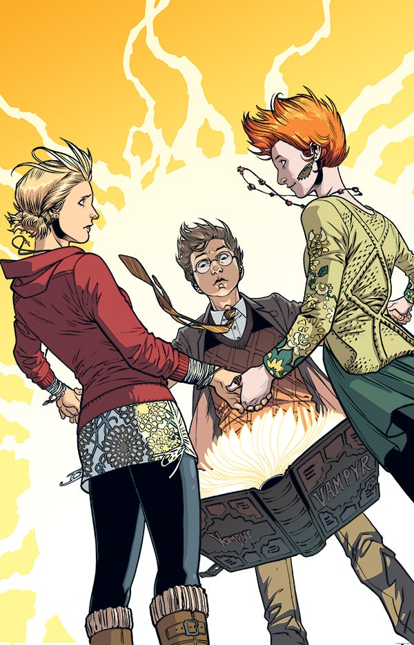 Xander explains why he's in charge in the Buffy season 10 comics