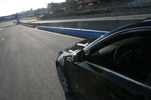 2011 Cadillac CTS-V Sport Wagon: Track Photos