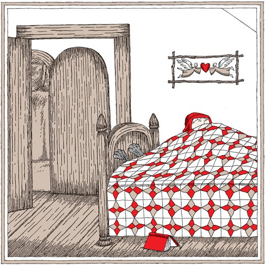 How Edward Gorey illustrated three classic fairytales