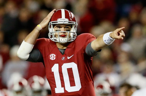 Alabama Escapes Death (Valley): Angling For Three, A Screen Pass Goes For 28 Yards And Wins It