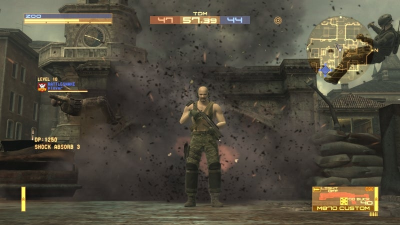 Metal Gear Online SCENE's Charming New Skills