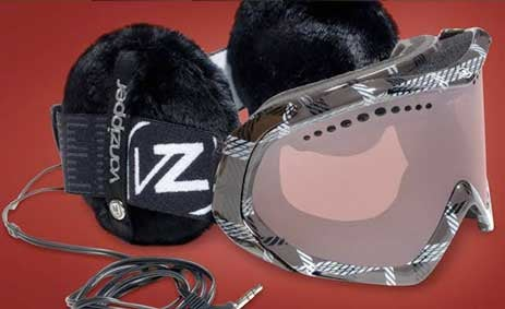 Von Zipper Snow Muffs Headphones: One Less Thing To Worry About