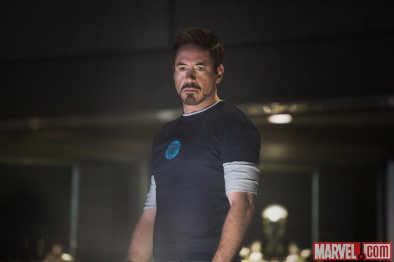 Official Iron Man 3 images showcase the Iron Patriot, Maya Hansen and Tony's Bad Helmet Day