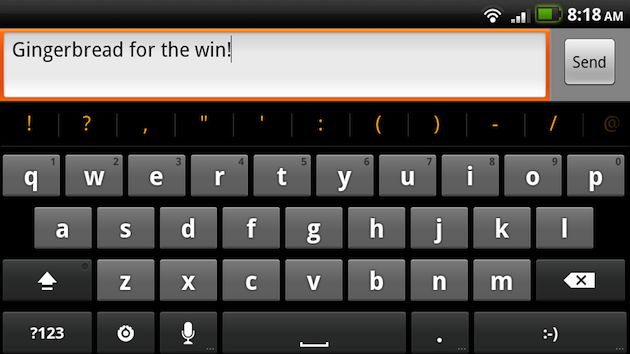 Use the New Gingerbread Keyboard on Your Rooted 2.2 Android Phone