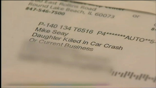 "OfficeMax Sent a Letter to ""Daughter Killed in Car Crash"""