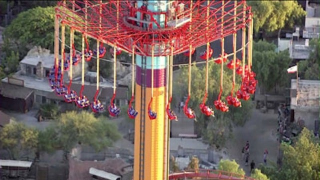 California Amusement Park Visitors Trapped for Hours Atop 300 Foot-Tall Ride