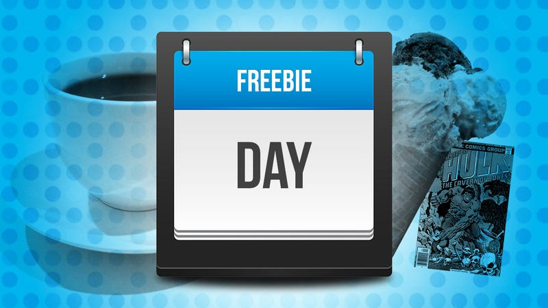 Get Free Stuff All Year Long with This Master List of Freebie Holidays