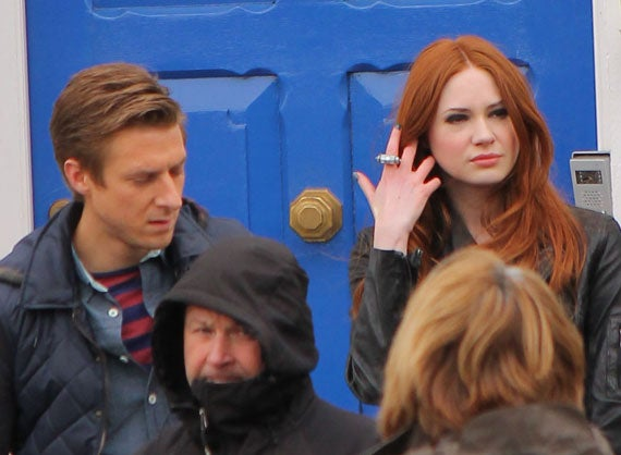 Doctor Who Series 7 Rory and Amy Filming Gallery