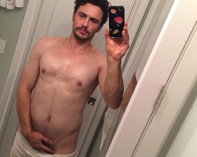 James Franco Just Posted A Nude Selfie to Instagram
