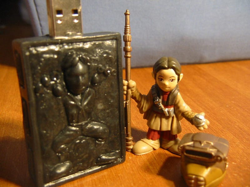 Han Solo In Carbonite USB Drive Was Too Good To Last