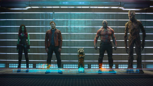 The first photo from Guardians of the Galaxy looks unbelievably badass