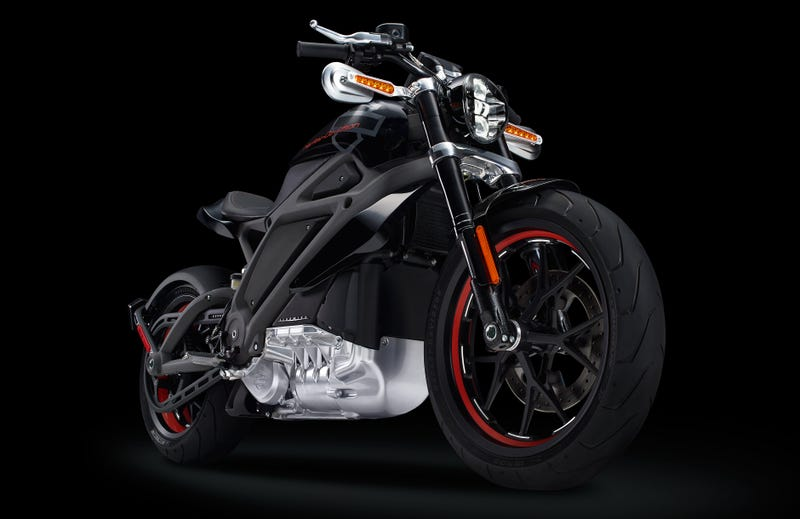 Project LiveWire Is Harley-Davidson's First Electric Motorcycle