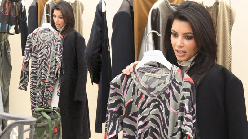 Kim Kardashian Has No Idea What to Wear in That Awkward Stage of Early Pregnancy