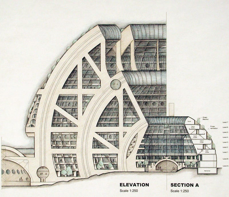 Paolo Soleri and the Cities of the Future