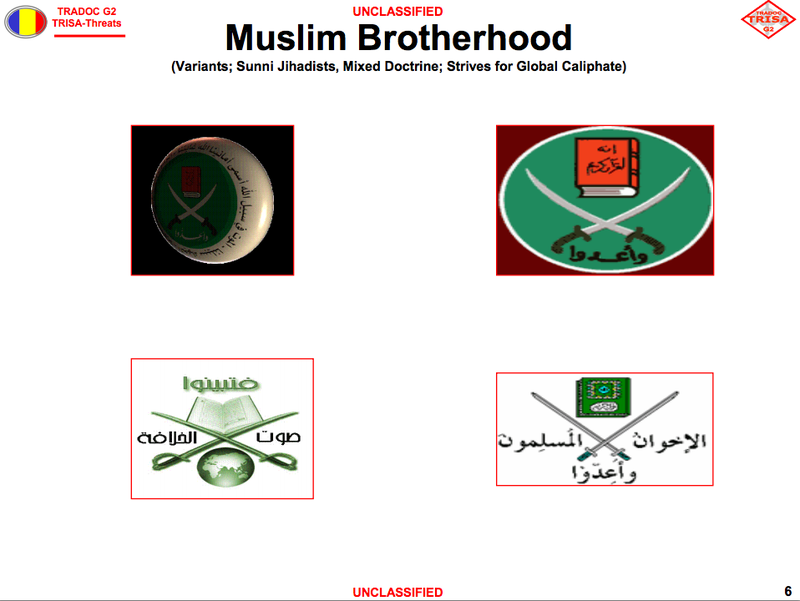 The US Army Guide That Teaches Soldiers To Recognize Terrorist Logos