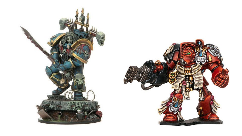 An Enormous Gallery Of Warhammer 40k Miniatures Painted To