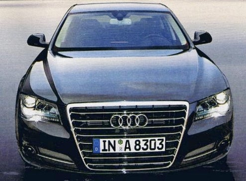 Am I The New Audi A8?