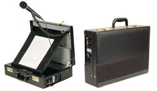 Orator's Briefcase PA System For Impromptu Speeches