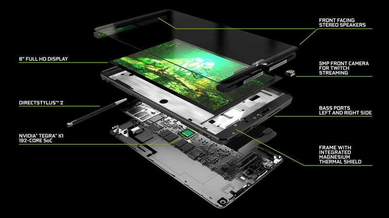Nvidia's New Tablet Tries Damn Hard to Earn Real Video Game Respect