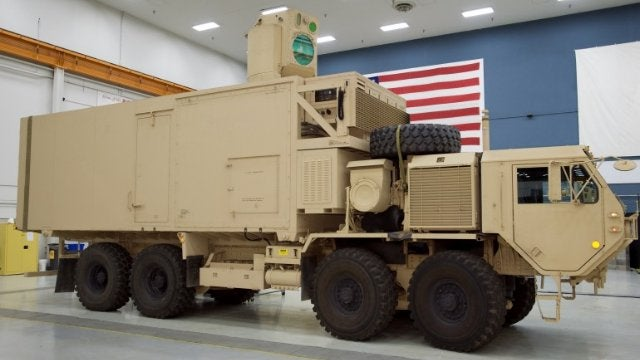 The Army Finally Put a GIANT LASER CANNON on a Truck
