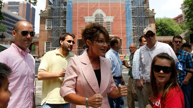 Palin Victorious at Gettysburg, Pushes Deeper into Union Territory