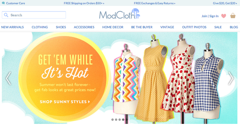 ModCloth Just Laid Off Almost 15 Percent of Its Staff