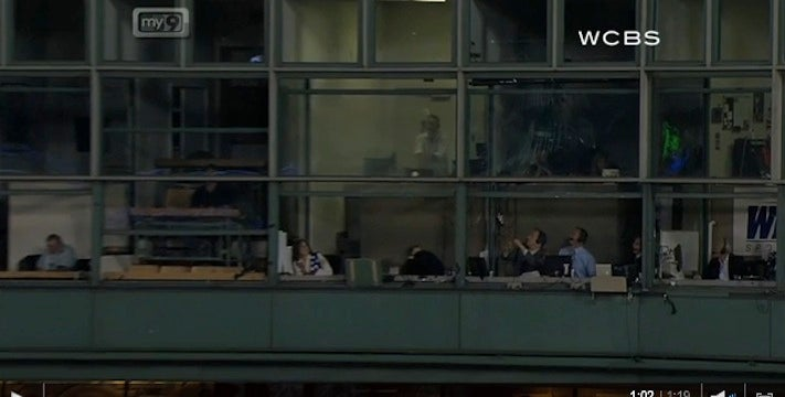 David Cone Made A Funny As John Sterling Cowered In Fear From A Foul Ball