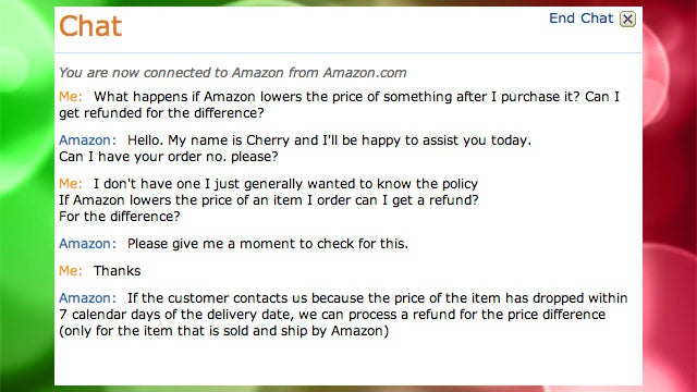Get a Refund If Amazon Drops the Price on an Item You Just Bought