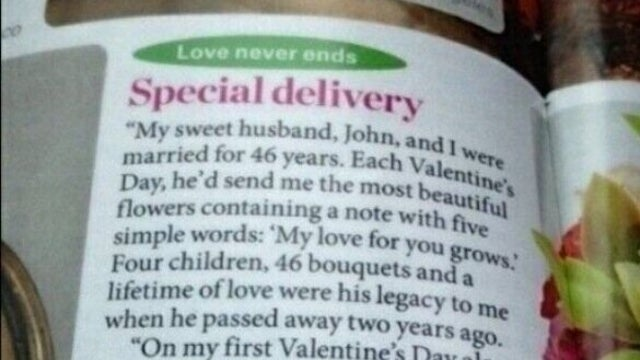 Cancel Valentine's Day: The Grandest Romantic Gesture Possible Has Been Performed
