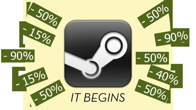 The Steam Summer Sale Starts Now