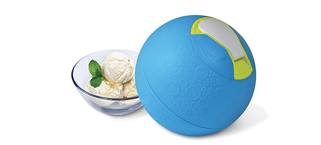 Kickball Ice Cream Maker Ensures You Earned That Tasty Dessert